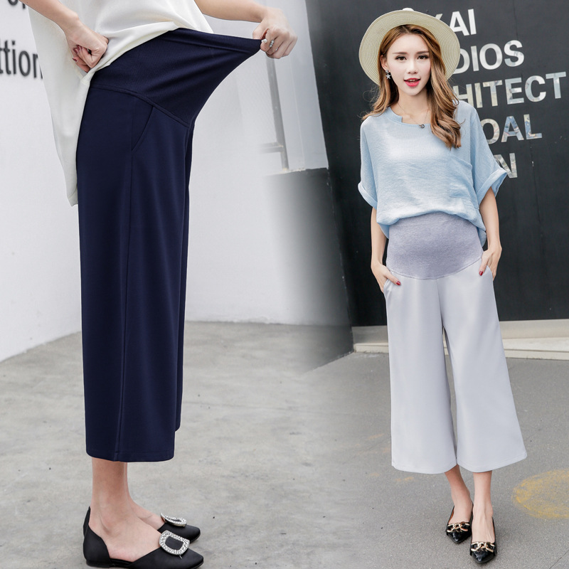 elegant woman maternity pants summer 2018 fashion pregnancy clothes maternity pants for pregnant women clothing