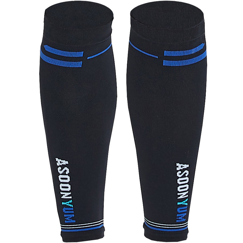 1 Pair Calf Sleeve Compression Leg Warmers Socks Outdoor Sports Shin Guard Calf Support for Football Soccer Running Basketball