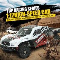 RC CAR 1 12 High Speed Car Ratio Control 2 4 GHz 4x4 Driving Car Assebled