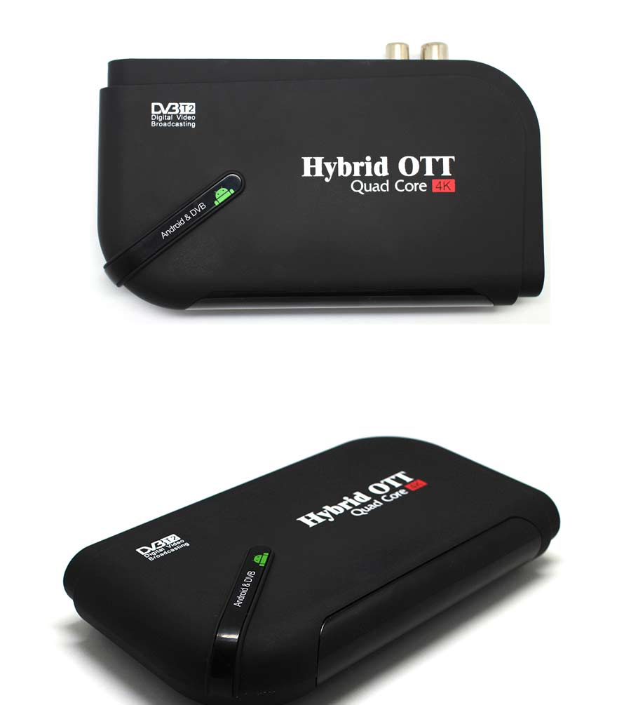 HOT SALE] DVB T2&Android Two IN One TV Box Android 7 1