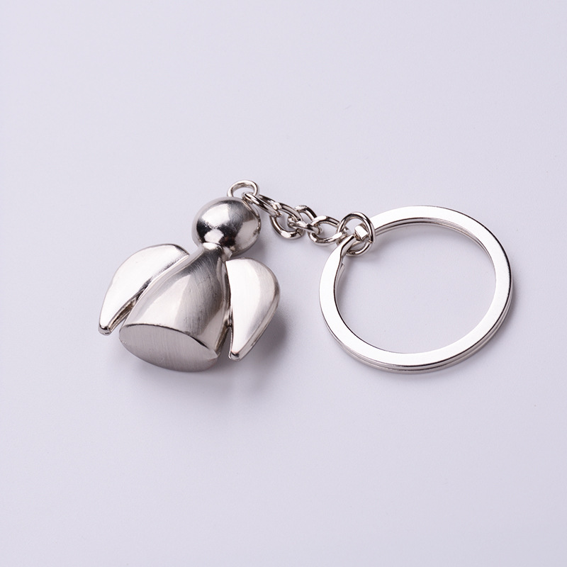 100pcs/lot Sunny Dolls keychains lovely angel keyrings woman bag charms car key rings best gift for girl friend key holder