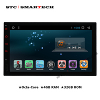SMARTECH 1 Din 2 Din Android 7 1 2 OS 7 Inch Octa Core 2GB RAM