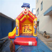 cartoon inflatable bouncer house,kids inflatable trampoline playground YLW-bouncer 179