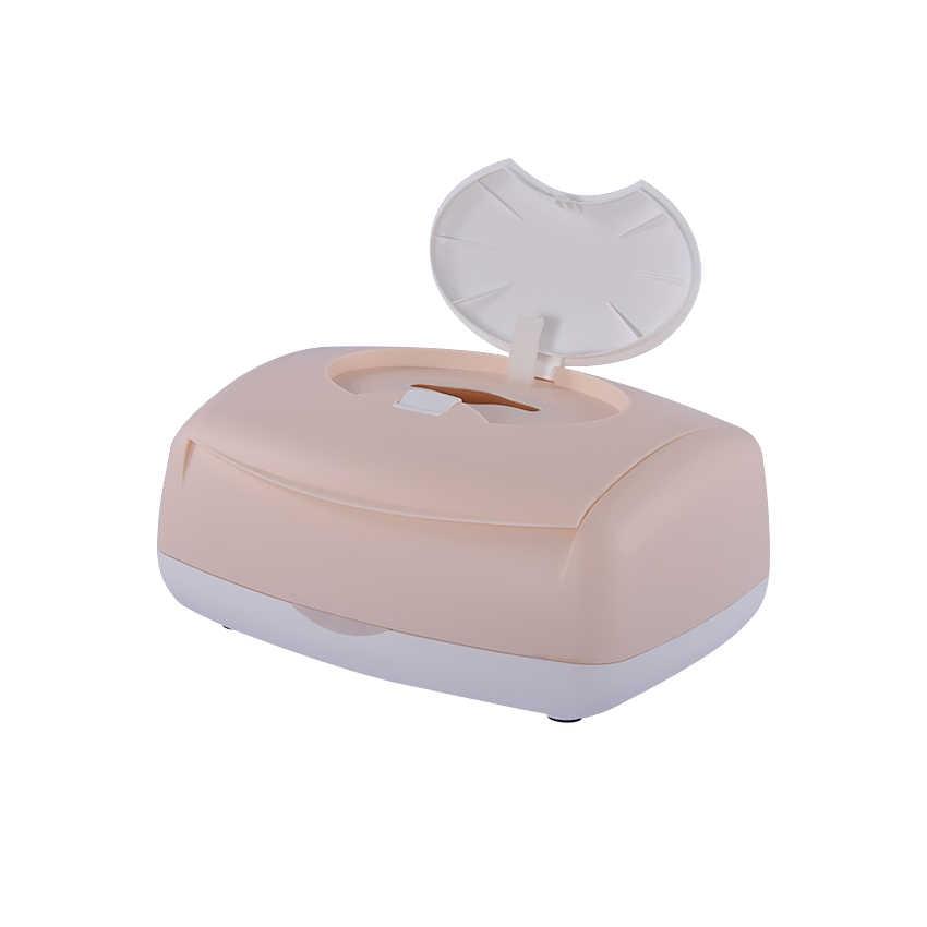 DS02 lau Em Bé nóng Ướt Khăn Dispenser ấm nhiệt ướt lau em bé sưởi ấm cách nhiệt humidor hộp PP nhiệt độ cao