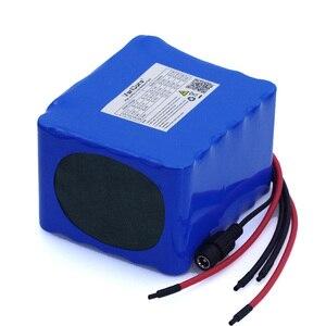 Image 2 - Batteria a scarica VariCore 12V 20Ah ad alta potenza 100A protezione BMS uscita 4 linee 500W 800W 18650 batteria caricabatterie 12.6V 3A