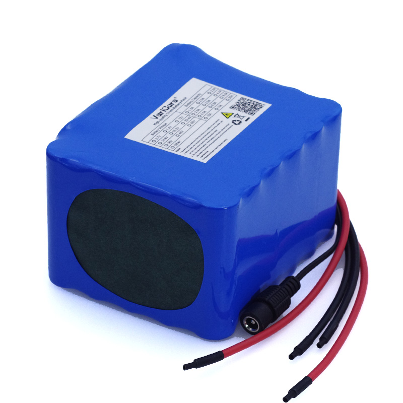 Image 2 - VariCore 12V 20Ah high power 100A discharge battery pack BMS protection 4 line output 500W 800W 18650 battery+ 12.6V 3A Charger-in Battery Packs from Consumer Electronics