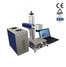 Купить с кэшбэком Made in China 20W good quality FIBER laser marking machine with fiber laser metal applicated for sale