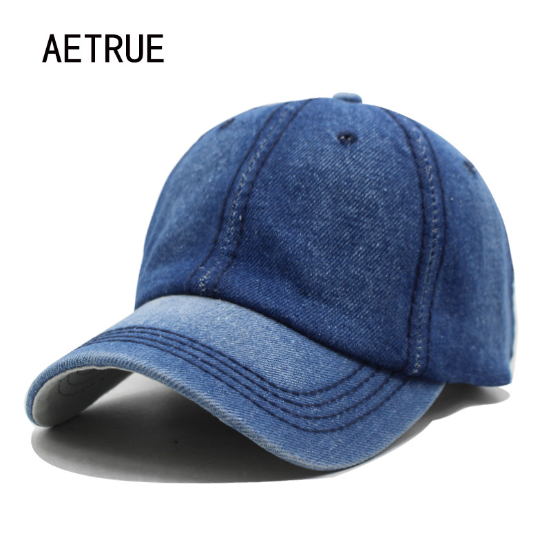 Baseball     Cap   Women Dad Snapback   Caps   Men Brand Homme Hats For Men Falt Bone Denim Jeans Blank Gorras Casquette Plain Dad   Cap   Hat