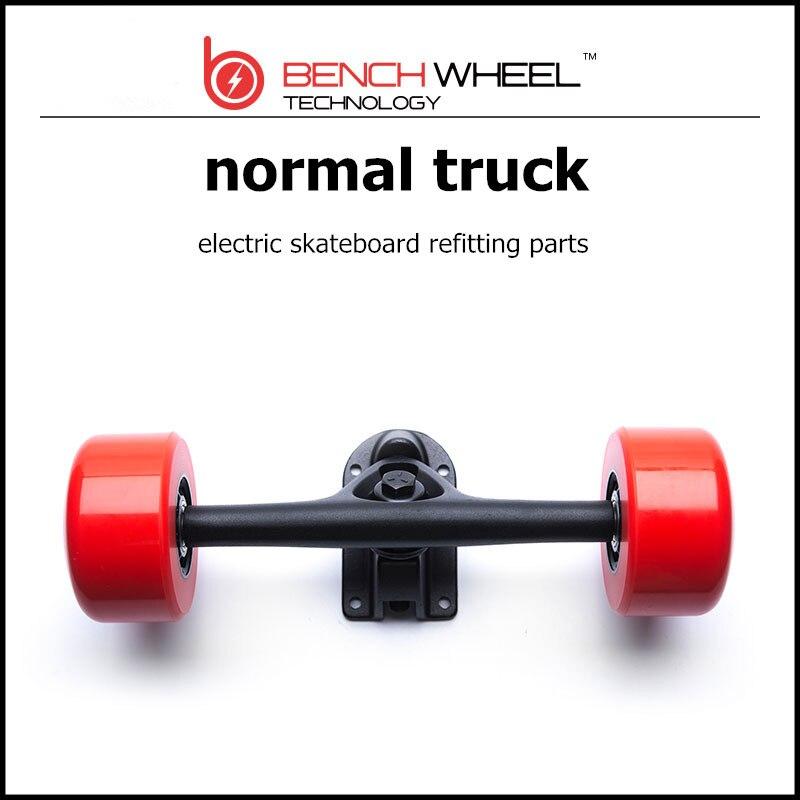 Prix pour Benchwheel Durable De Magnésium Alliage De Camion Indépendants Avec Roues Pour Cruiseelectric planche à roulettes camion normal