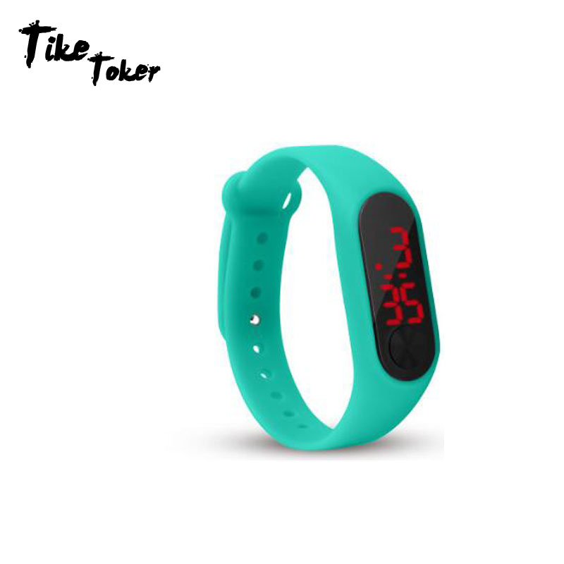 Montre Watch Digital-Display Senior Bracelet Outdoor Men Fashion Women Boy Girl LED Sport