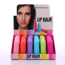 Fruity five-color lipstick scrub tube moisturizing lip makeup