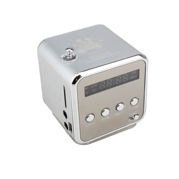 Micro SD TF Speaker Music USB Portable Radio Stereo Mini MP3 Player for PC @JH