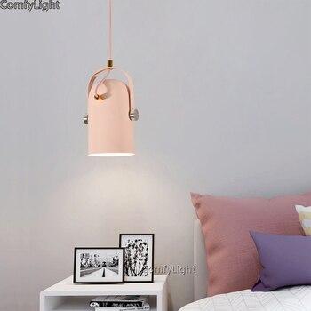 Gelbe Pendelleuchte   Moderne Anhänger Lichter Lustre Leuchte Hanglamp Nordic Minimalismus Droplights Esszimmer/nacht/küche Home Beleuchtung Decor E27