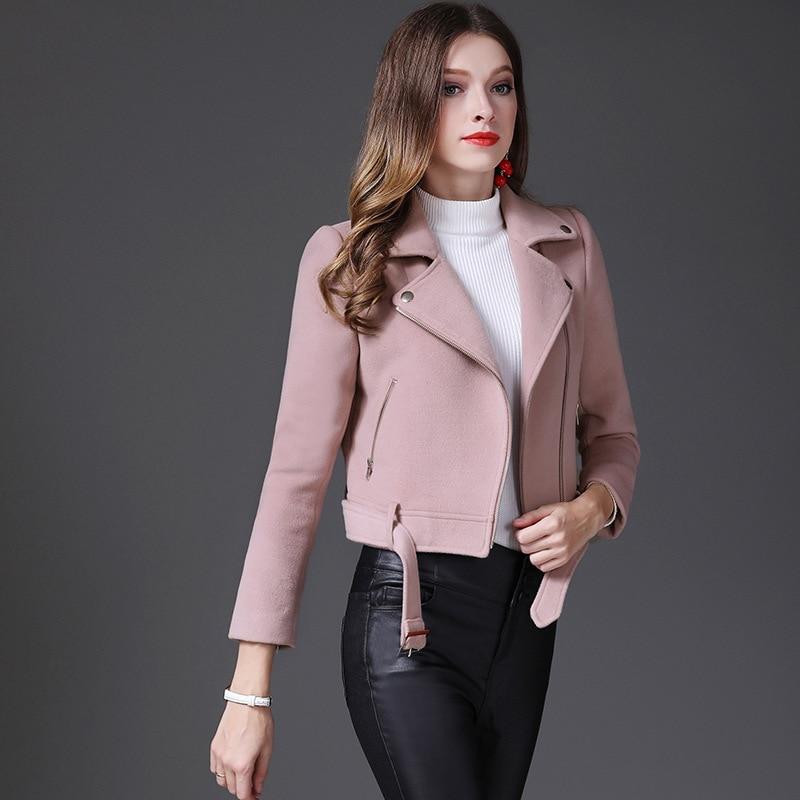 Новинка зимы короткая заметка шерстяной пиджак женский небольшой ладан тонкий дикий короткая куртка женская