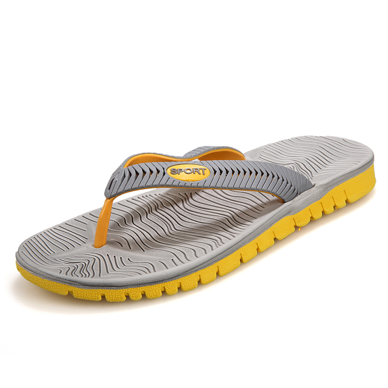 22e2e363d8c 2017 Mens Flip Flops Sandals Rubber Casual Men Shoes Summer Fashion Beach Flip  Flops Sapatos Hembre sapatenis masculino-in Slippers from Shoes on ...
