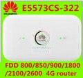 4 г мифи маршрутизатор huawei e5573 4g E5573cs-322 4 г мифи wi-fi dongle придерживайтесь fdd 800/850/900/1800/2100/2600 МГц PK e5331 e5220 e5330
