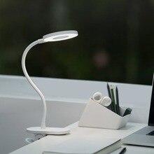 Nuovo Yeelight Touch On/off Interruttore 3 Modalità Clip Desk Lamp 3900K Protezione Degli Occhi Luce Dimmer Ricaricabile USB lampada Da Tavolo a Led