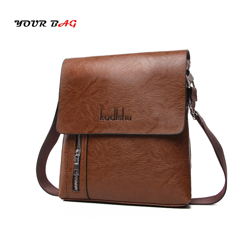 UABG Genuine Leather Bags For Men's Casual messenger bags Business Male Flap shoulder Bags Vintage Travel Zipper Crossbody Bags men shoulder bags genuine leather vintage male business messenger bags vogue multifunction casual travel crossbody pack rucksack
