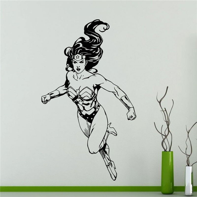 Wonder Woman Wall Art popular wonder woman wall-buy cheap wonder woman wall lots from
