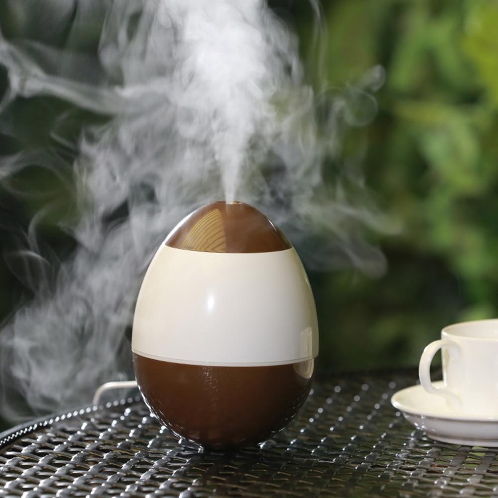 Shilly Cute Tumbler Egg Model Mini USB Ultrasonic Air Humidifier Water Diffuser Mist Maker Fogger