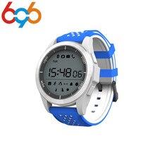 696 2017 NOVO F3 Esporte Smartwatch Relógio Inteligente Pulseira IP68 À Prova D' Água Ao Ar Livre Modo de Fitness Rastreador Wearable Dispositivos Lembrete