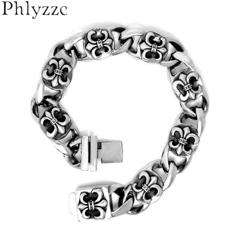 Fleur De Lis Charm Bracelet: Drop Ship Stainless Steel Fleur De Lis Bracelet Mens Women