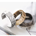 LA002 Vintage metal fashion bracelet fish scale bling bracelet accessories for woman birthday gift