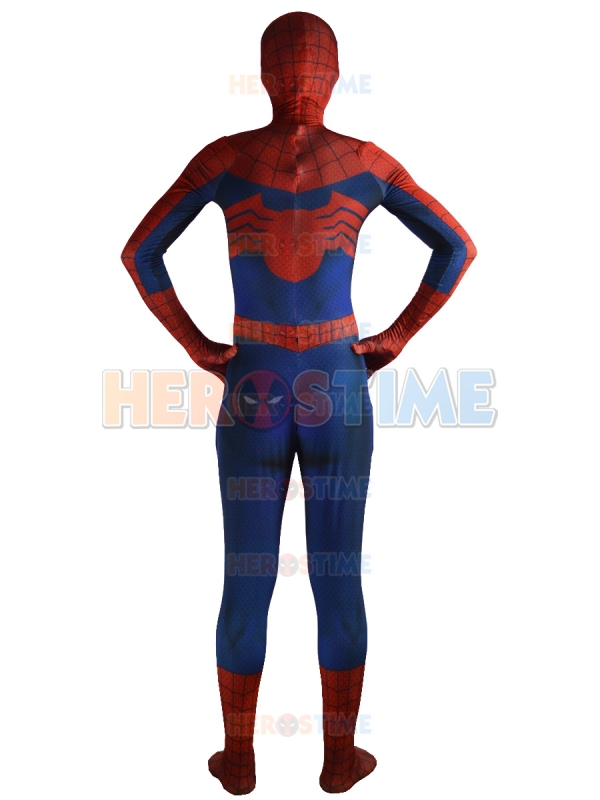 Ultimate Spiderman Kostyum Klassik Spandex Tam Superhero Spiderman - Karnaval kostyumlar - Fotoqrafiya 5