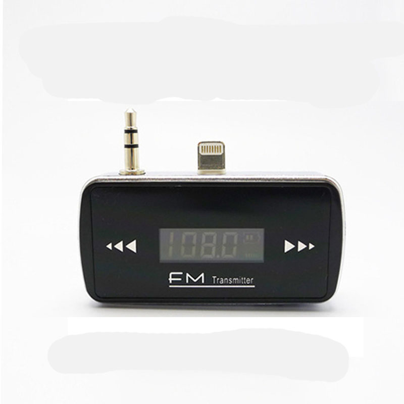 Mini Wireless LCD 3.5mm In-Car Handsfree Car Kit Music Audio FM Transmitter With Charge for iPhone 6 4.7inch Car MP3 Player