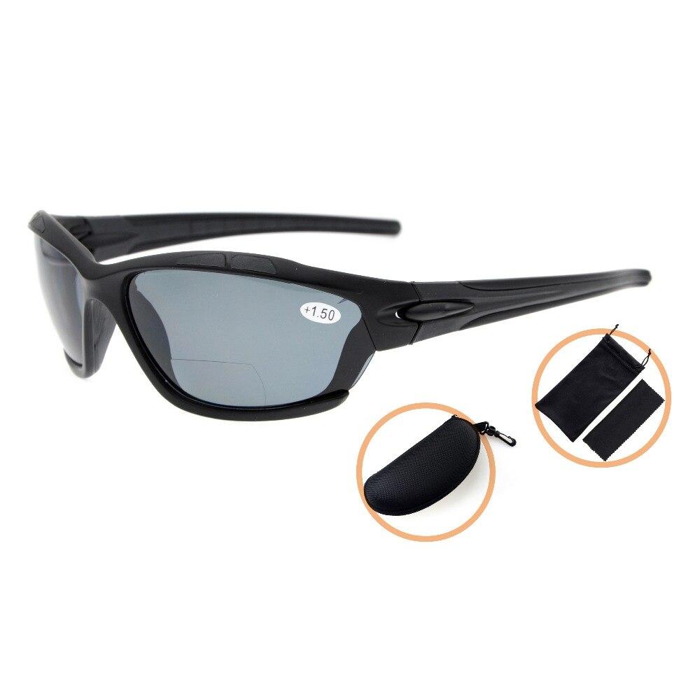 4293f9df784 TH7007PGSG Eyekepper TR90 Unbreakable Sports Polycarbonate Polarized  Bifocal Sunglasses +1.50 +2.0 +2.5