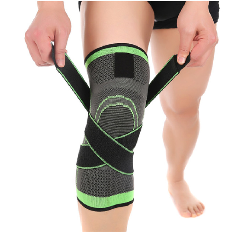 2017 NEW 3D Weaving Knee Brace Breathable Sleeve Support for Running Jogging Sports 1pcs S925