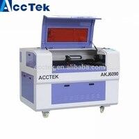 China machine Jinan Acctek 6090 laser machine laser engraving and cutting machine