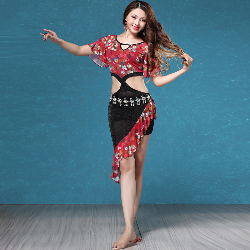 Bellydance oriental Belly Indian eastern baladi saidi swing robe dance dancing costumes clothes bra belt skirt