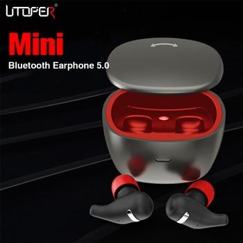 Airpods Earphones Wireless Headphones TWS 5.0 headsets Handsfree Earbuds Mini Stereo With Mic Charging Box Sports Headphone