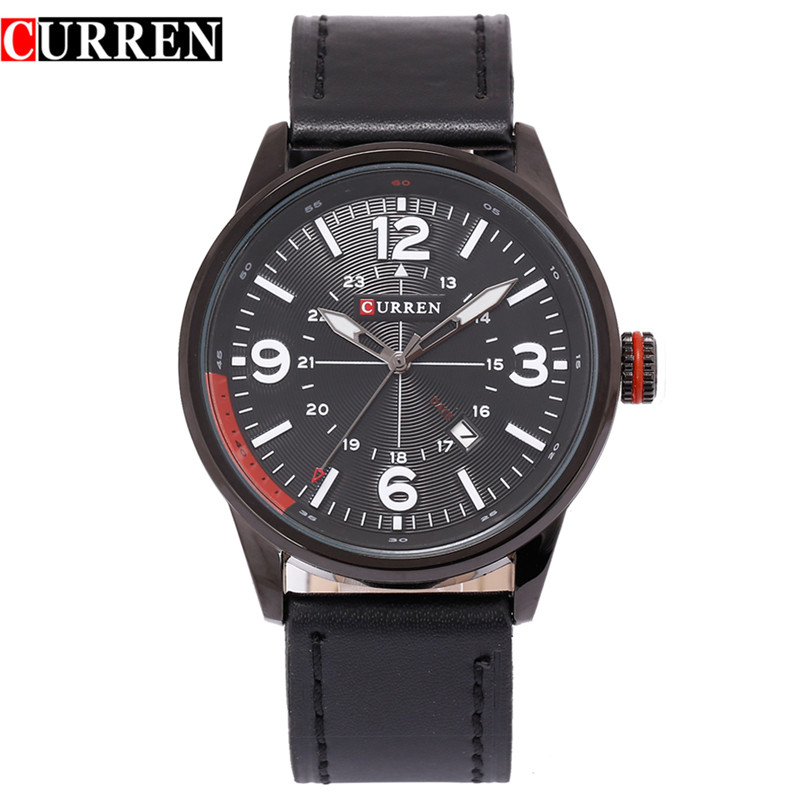 CURREN 8215 new fashion casual quartz watch men l wrist watch relojes calendar sports watch