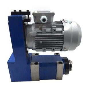 Image 2 - แกนหน่วย MT3 BT30 ER25 หัว 3000 RPM 8000 RPM 370W มอเตอร์ V Belt DRIVE สำหรับเจาะ CNC Milling แกะสลัก