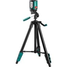 Уровень лазерный автоматический KRAFTOOL 34700-3 (горизонталь, вертикаль и крест, точность 0,2 мм-м, штатив)