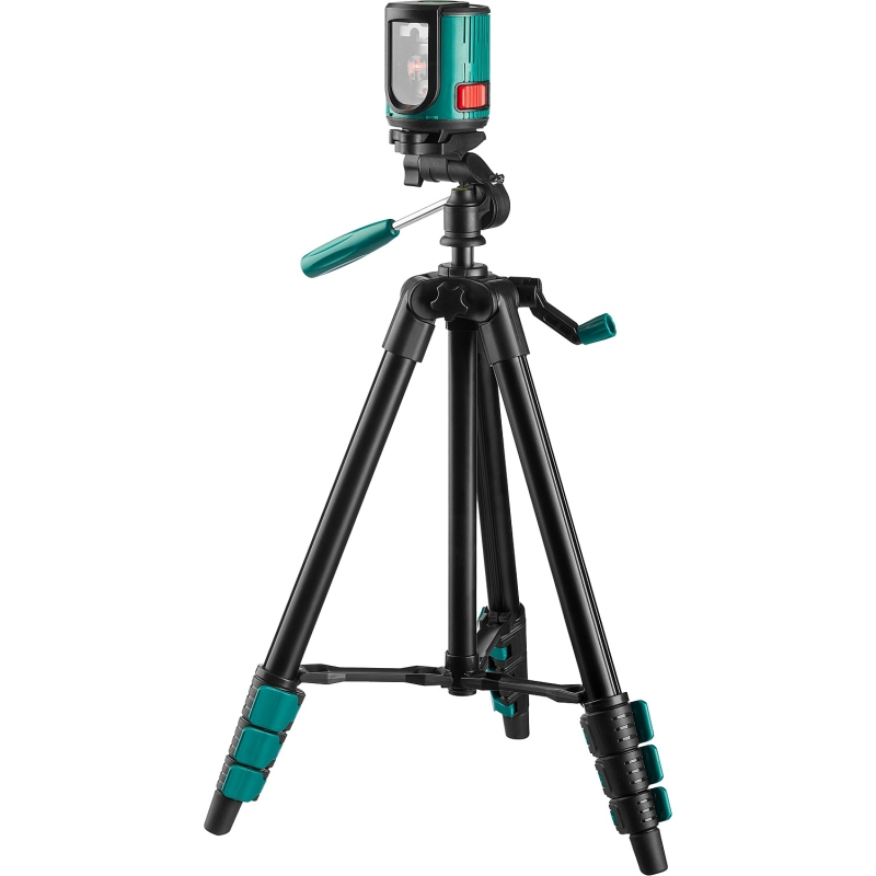 Level laser automatic KRAFTOOL 34700-3 (горизонталь, vertical and cross, accuracy 0,2mm-M, tripod) 3 section aluminum slr camera tripod fishing gear accessories lamp tripod stand holder