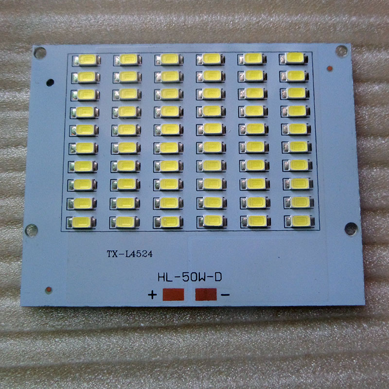 High Lumens LED Flood Light 10w 20w 30w 50w 220v Epistar PCB 5730 SMD LED Chips Plate Resource Floodlight DIY LED Lamp Beads
