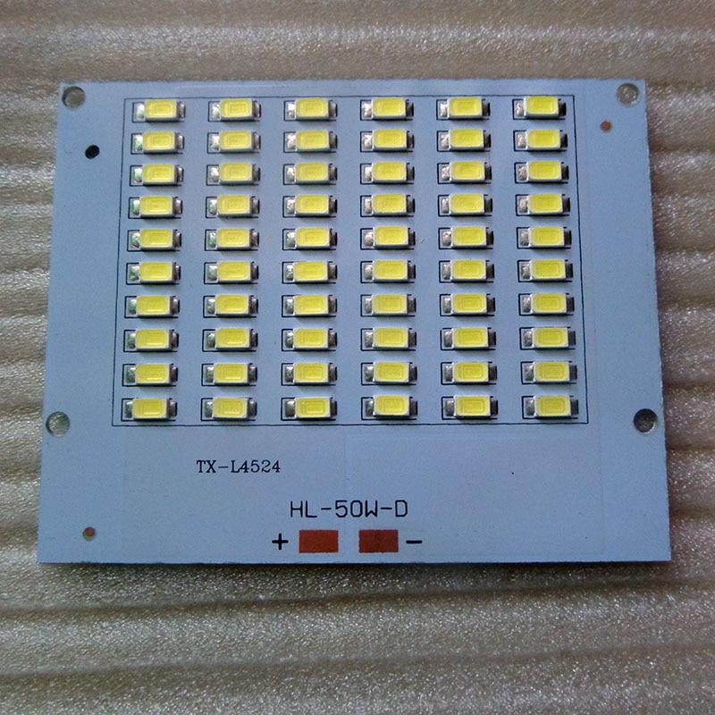 High Lumens LED Flood Light 10w 20w 30w 50w 220v Epistar PCB 5730 SMD LED Chips Plate Resource Floodlight DIY LED Lamp Beads
