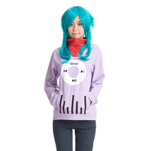 цена на Kagerou Project MekakuCity Actors Cosplay Kido Ene MOMO Costume Unisex Long-Sleeved Hoodie Casual Coat Hooded Tops Jackets