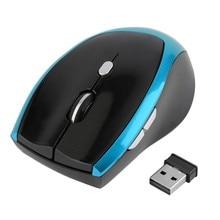 2,4 ГГц мини беспроводная оптическая 6 кнопок 800 до 2000 dpi профессиональная мышь Мышь встроенная мышь память для ПК ноутбука