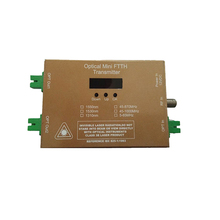 1550 нм 4~ 10 мВт FTTH мини кабельный ТВ-передатчик волоконно-оптический узел