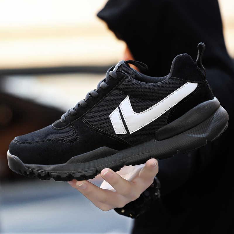 acdd3a8bfe95a ... Summer Men Sneaker Sport Air Running Air Knitted Fly Weaving Sport Mesh  Shoes Jogging Man Craft ...