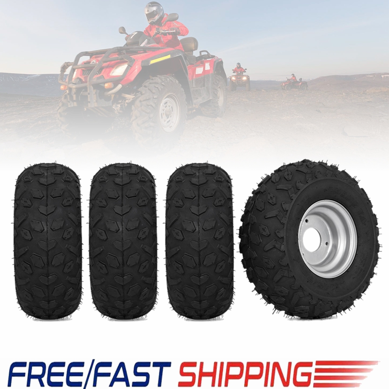 TDPRO New 145/70 6 inch Wheel Tyres Tire Rim for 49cc 50cc 110cc Electric ATV Scooter Buggy Go kart Bike Vehicle Parts Off Road