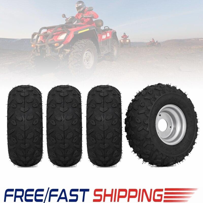 TDPRO nouveau 145/70-6 pouces roue pneus pneu jante pour 49cc 50cc 110cc électrique ATV Scooter Buggy aller kart vélo pièces de véhicule hors route