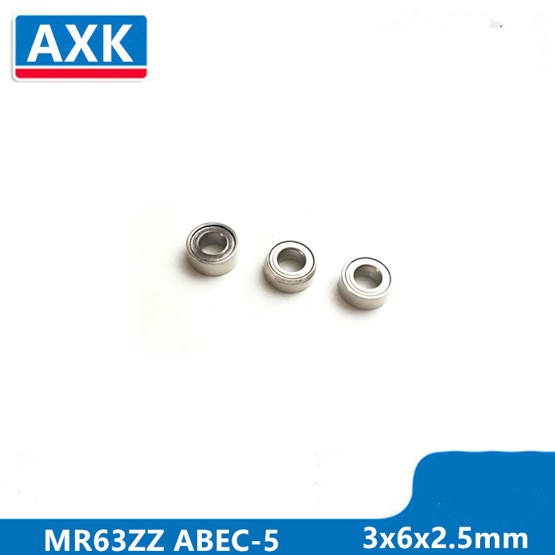 Blue 3x6x2.5 MR63-2RS 3*6*2.5 Tamiya 630 Rubber Sealed Ball Bearings 5 PCS