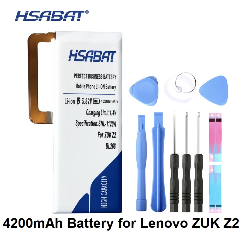 Cellphones & Telecommunications Hsabat 4200mah Bl268 Battery For Lenovo Zuk Z2 Z2131 To Help Digest Greasy Food Mobile Phone Batteries