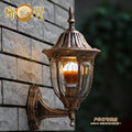 European Style 220v E27 villa courtyard balcony/garden/corridor wall lamp porch aczoiling outdoor porch lighting bronze fixture