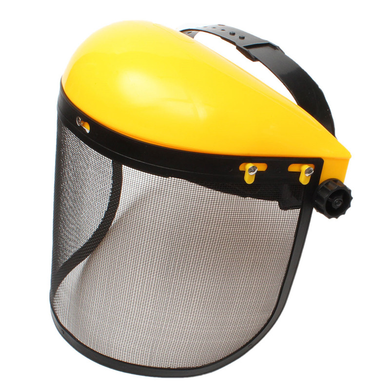 Chainsaw Safety Helmet Face Protection Mesh Forestry Visor Trimmer Brush  Cutter Forestry Mower Face Protective Mask 8922066dd54d
